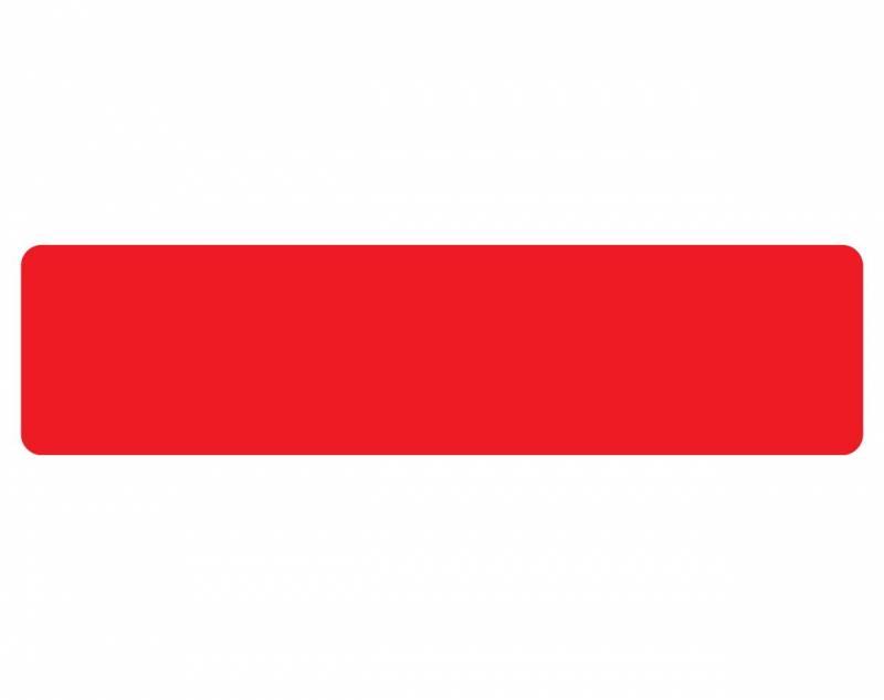 Image of   Gulvmærker striber rød bredde 50mm 10stk/pak