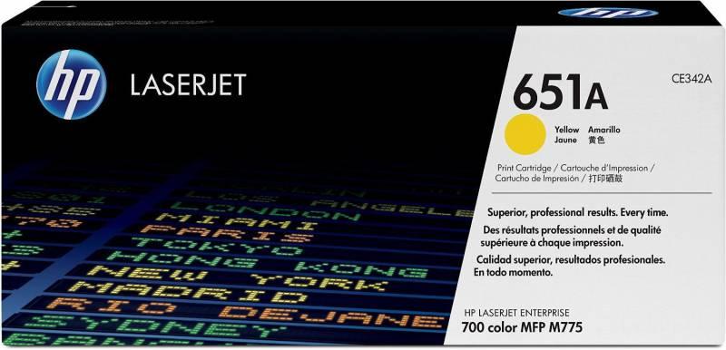 Billede af HP Toner 651A yellow