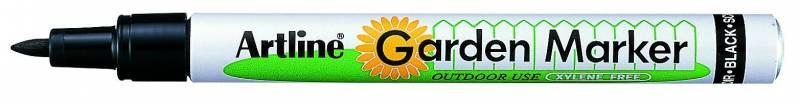Image of   Gardenmarker Artline EK780/1B sort blisterkort