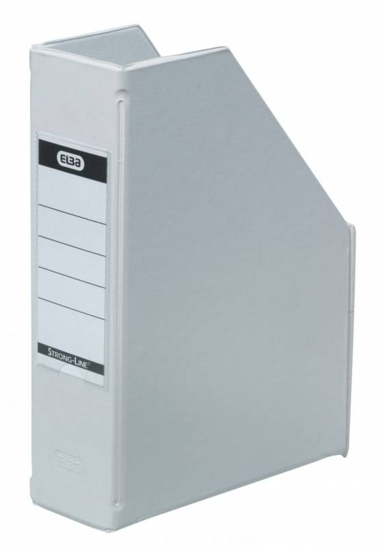 Billede af Tidsskriftskassette ELBA A5 maxi hvid ryg: 6 cm