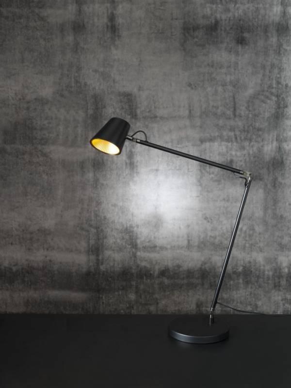 Billede af Lampe LightUp Tokyo sort 3-LED 3-trin touchdimmer
