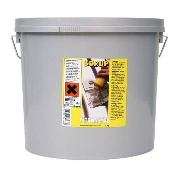 Billede af Citronsyre pulverform 5kg 53037