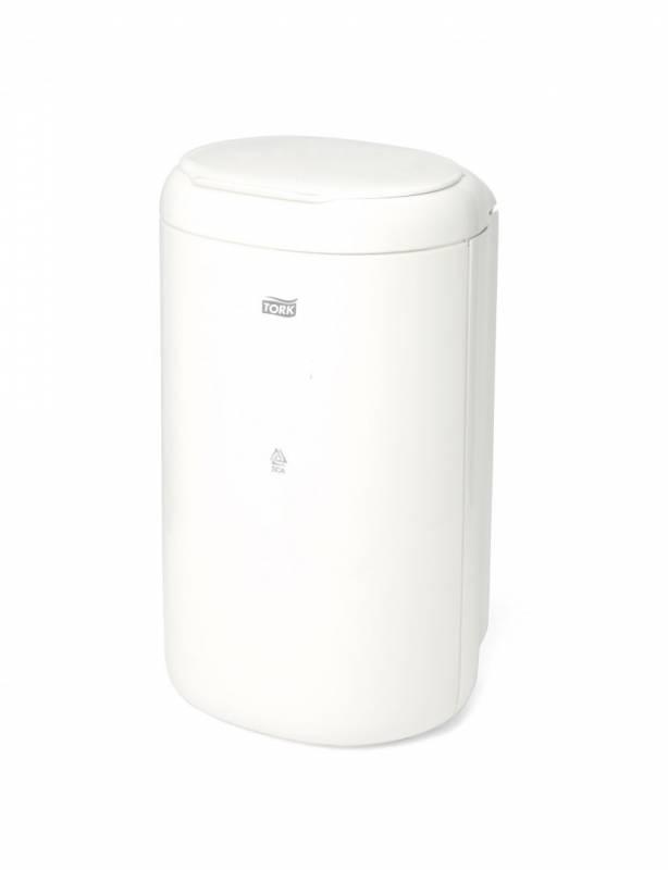 Billede af Affaldsspand Tork Bin B3 5l hvid hygiejnespand m/låg