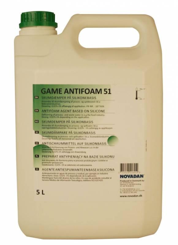 Billede af Antifoam Game 51 5 liter 41845