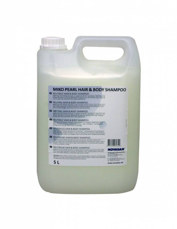 Billede af Hair and body shampoo Miko Pearl 5l
