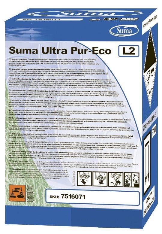 Image of   Maskinopvask Suma Ultra Pur-Eco L2 u/klor 10l/stk