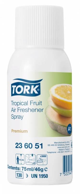Image of   Luftfrisker Tork Airfresh A1 Premium spray tropisk frugt 12stk/pak