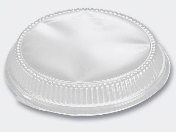 Plastlåg 2,5cm dome til 5170 A-pet klar - 200stk/pak