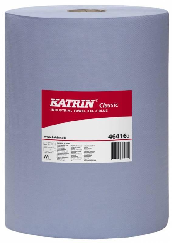 Aftørringspapir Katrin C XXL2 2-lag 38cmx380m blå 2rl 464163