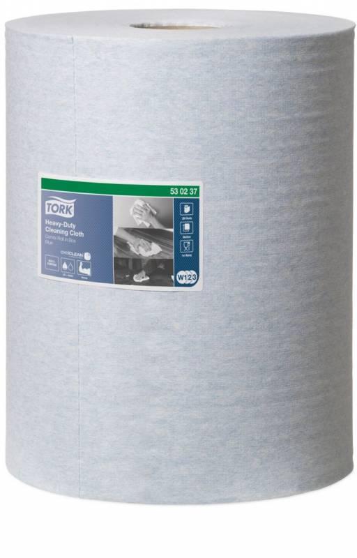 Aftørringsklud Tork Kraftig W1-3 38x42cmx106m 280ark/kar