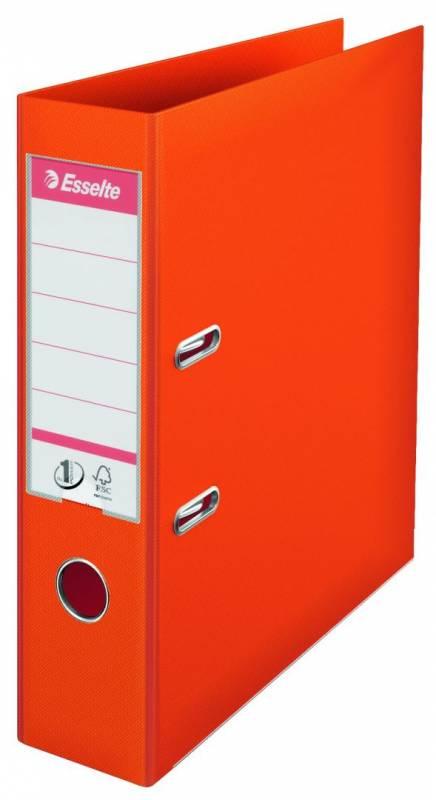 Billede af Brevordner Esselte orange A4 bred No. 1 Power