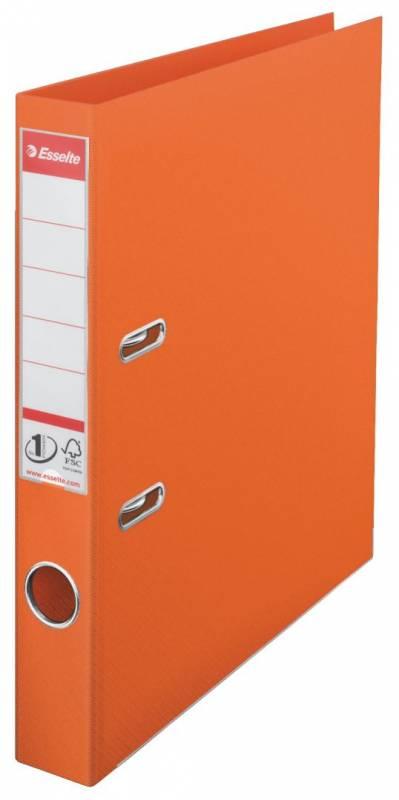 Billede af Brevordner Esselte orange A4 smal No. 1 Power