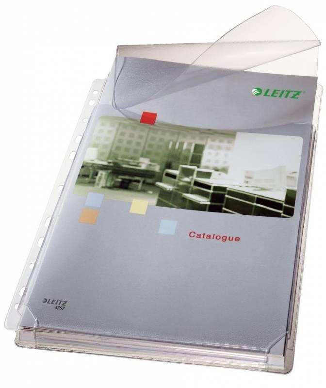 Billede af Plastlomme Leitz A4 m/klap t/kataloger 5stk/pak