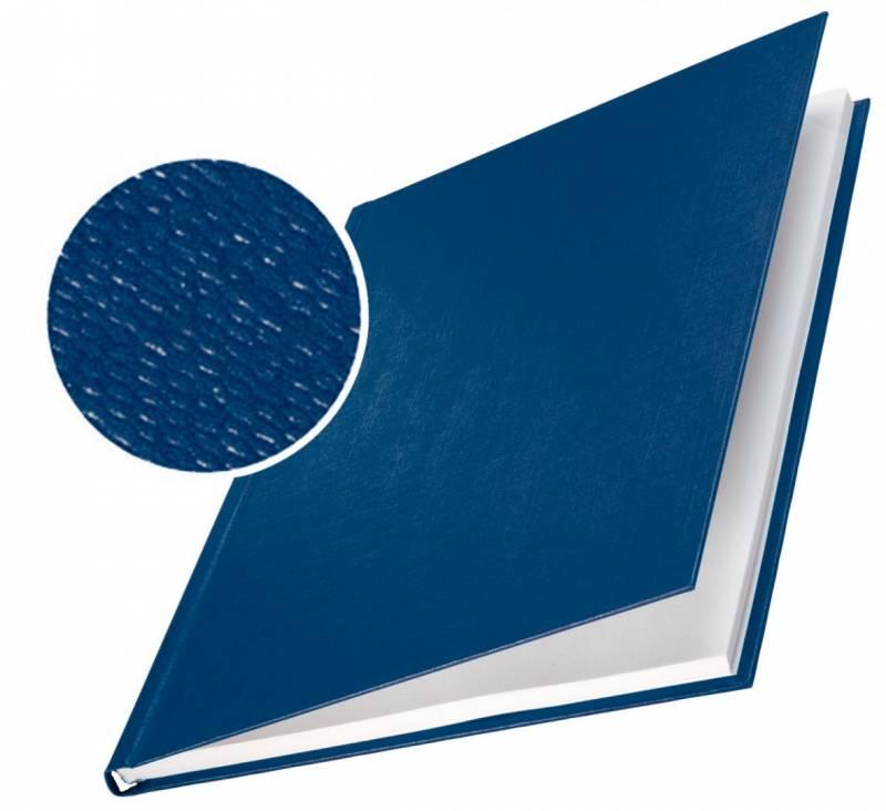 Image of   Skinneomslag Leitz tekstil 3,5mm blå 10stk/pak