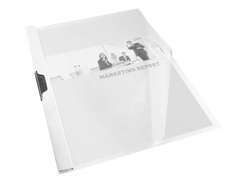 Image of   Universalmappe Esselte A4 t/30 ark PVC hvid