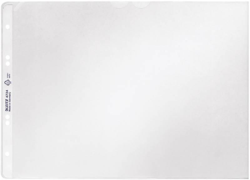 Billede af Plastlomme Leitz A4 0,12mm tværformat åben top 50stk/pak