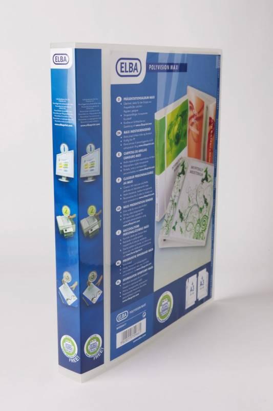 Billede af Indstiksmappe A3 Maxivision 30 mm 4D højform. m/lomme klar