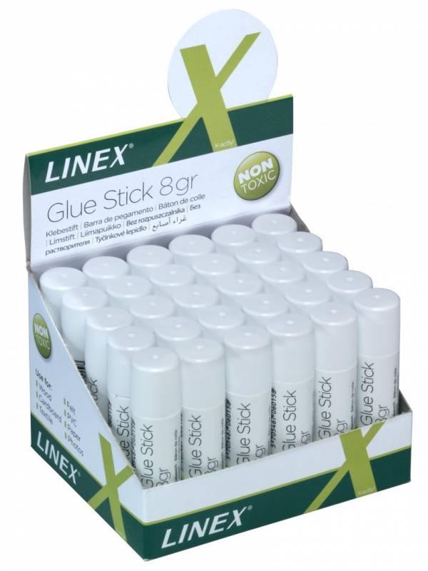 Image of   Limstift Linex 8g t/papir og foto m.v.