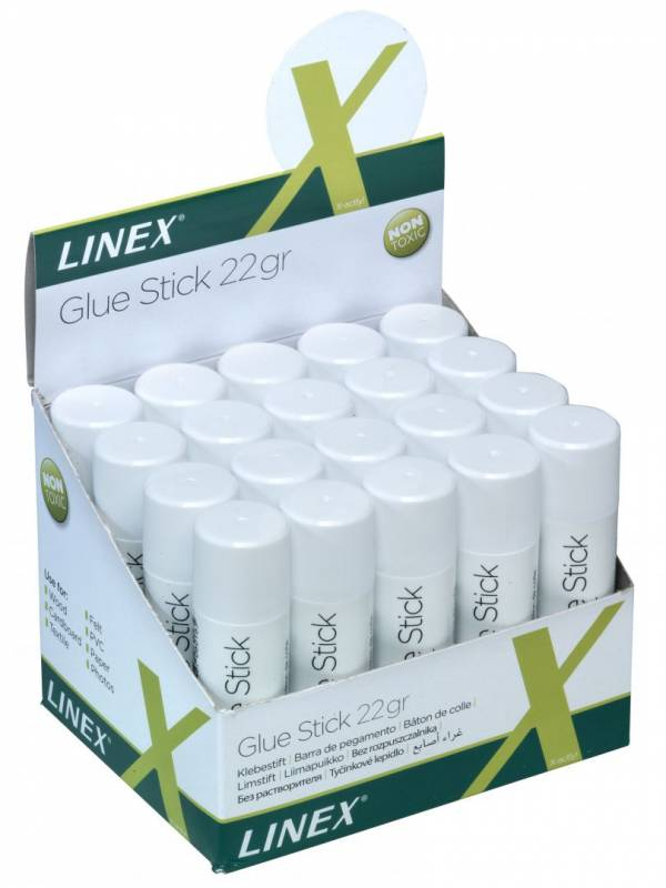 Billede af Limstift Linex 22g t/papir og foto m.v.