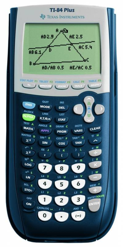 Image of   Regnemaskine Texas TI 84 Plus matematik m/graphlink