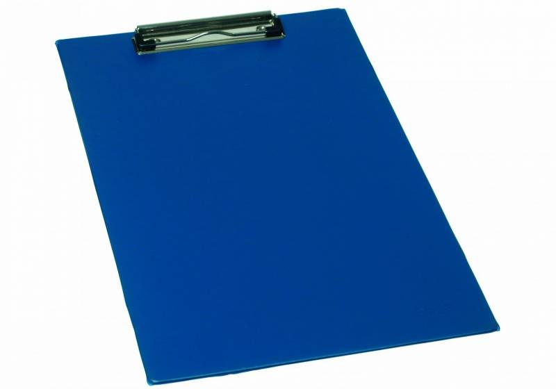Image of   Clipboard Bantex A4 m/wireclip blå