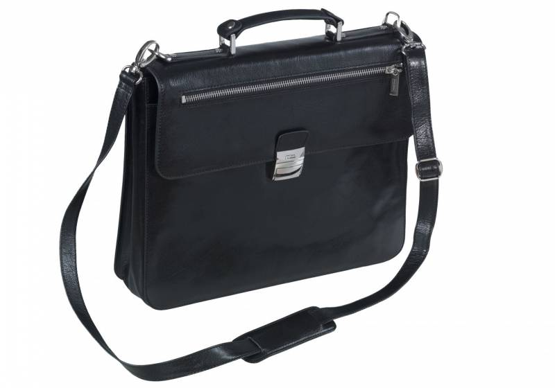 "Image of   Computertaske Pierre sort 15,6"" Elba Exclusive Line"